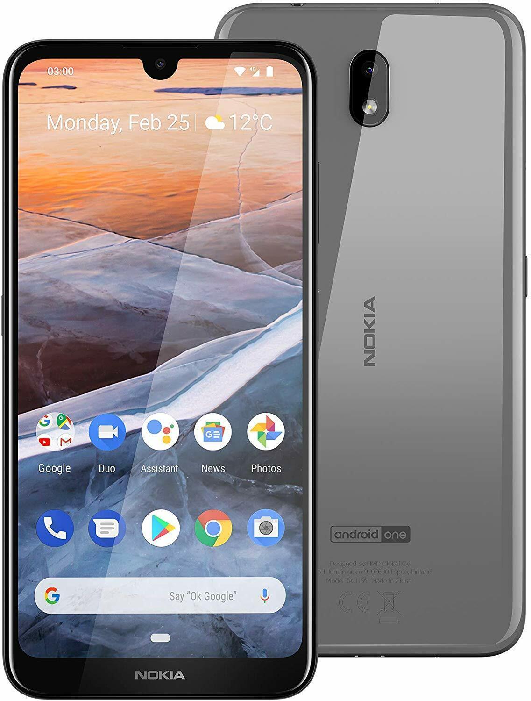 Nokia 2.2 Dual Sim Handy grau stahl Smartphone 14,5cm 5,7Zoll Android 9.0