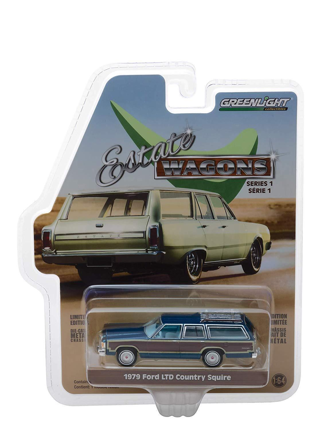 Greenlight 1/64 Estate Wagons S1 1979 Ford LTD Country Squir
