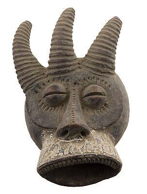 Mask African Passport Miniature Divination Zoomorphic Fetish 6485 B4MB