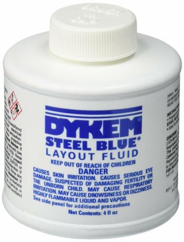 Dykem Machinist Steel Blue Liquid Die Metal Marking Tool Dychem Layout Dye Fluid