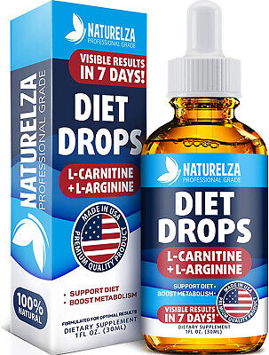 Weight Loss Drops - Made In USA - Best Diet Drops For Fat Loss - Effective