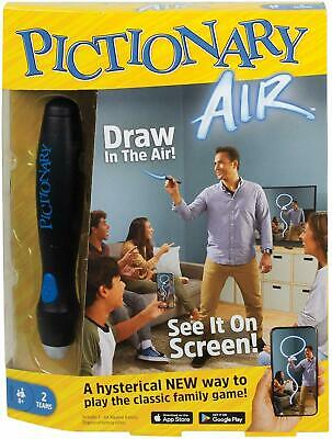 Pictionary Air Family Board Game Brand UK Seller Xmas Gift Genuine Boxed Sealed ()