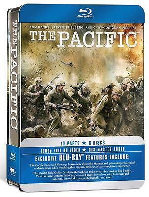 The Pacific - The Complete HBO Series [Blu-ray Region Free Tom Hanks Spielberg]