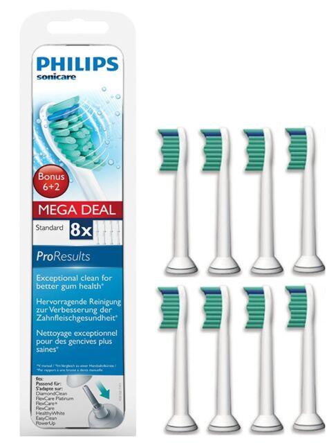 Philips Sonicare HX6018/07  ProResults Aufsteckbürsten Standard, 6+2  8er pack