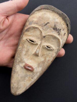 Fang Ngil Mask African Grade Masquette of Gabon Wood 16cm Art First 16847
