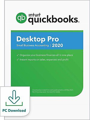 QuickBooks Desktop  Pro 2020  Accounting Software for Small Business with... for sale  Shipping to South Africa
