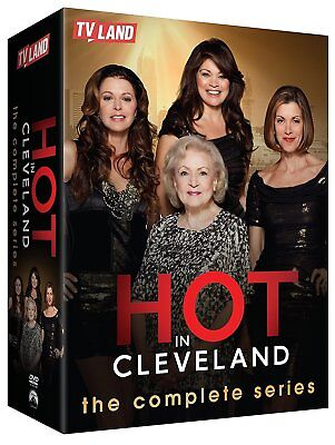 Hot In Cleveland: The Complete Series Seasons 1-6 (DVD 2016, 17-Disc Set) F&S