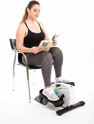 Under Desk Elliptical Exercise Stepper – Best Compact Machine for Home or (Best Compact Cardio Equipment)