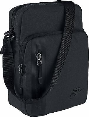 Nike Tech Mens Core Items Shoulder Bag Black BA5268 010  - Nike Tech Core