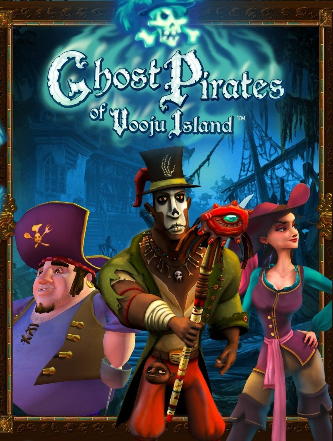 Ghost Pirates Of Vooju Island PC Games Window 10 8 7 XP Computer point and click
