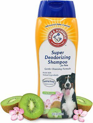 Pet Odor Eliminator Super Deodorizing Spray for Dogs Kiwi Blossom 20 Fluid Ounce