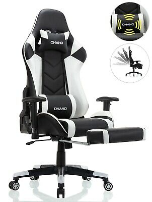 Ohaho Office Chair High Back Computer Racing Gaming Chair Ergonomic Chair
