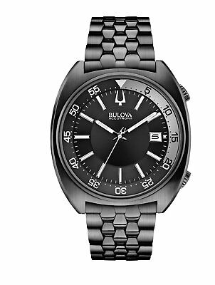 Bulova Men's Snorkel Collection Quartz Black Dial Bracelet 43mm Watch (Bulova Bracelet Collection Mens Watch)
