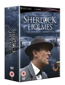 ❏ Sherlock Holmes Complete Collection 16 DVD Set New ❏ Jeremy Brett