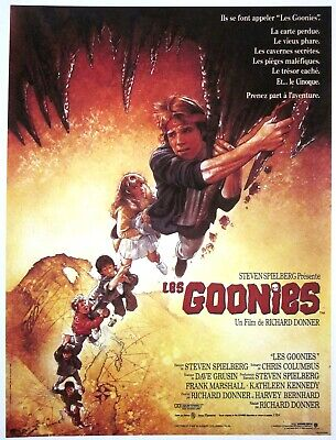 Used, GOONIES Josh Brolin mini posters French color 1985 Sandrine Bonnaire VAGABOND for sale  USA