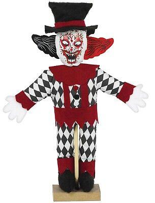 Halloween De Terror (Fiesta de Halloween Decoración Asesino Espeluznante Sangriento Terror Pie Payaso)