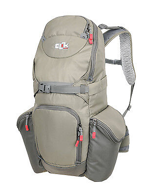 CLIK Elite Bottle Rocket Camera & Accessories Backpack – CE707GR – Gray - NWT
