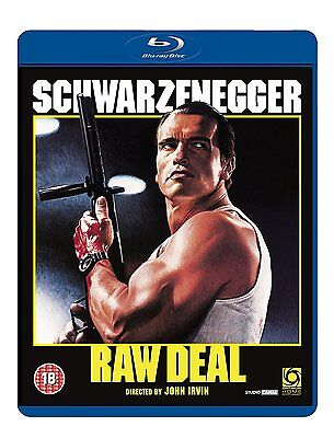 Raw Deal   Arnold Schwarzenegger   Blu Ray Brand New Free Ship   Usa Compatible