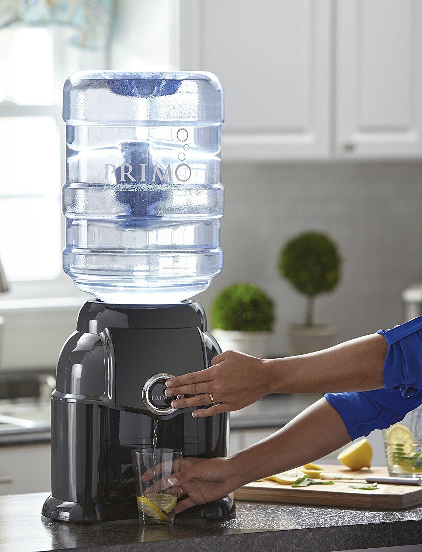 Primo Black Countertop Room Temperature Water Dispenser