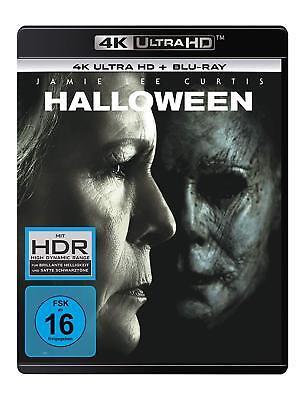 LEE CURTIS 4K ULTRA HD + BLU-RAY DEUTSCH (Jamie Lee Curtis Halloween 4)