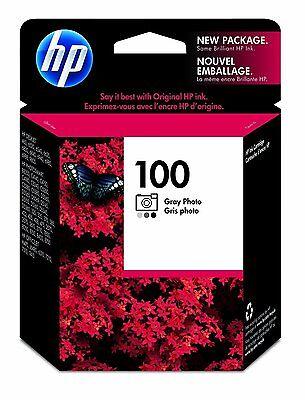 GENUINE NEW HP 100 (C9368AN) Photo Gray Ink Cartridge