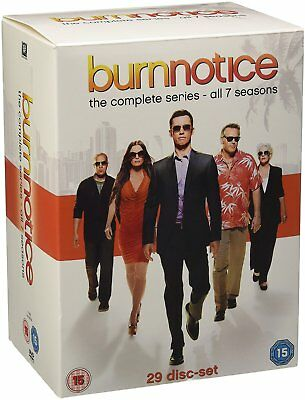 Burn Notice Komplette Serie 29x DVD NEU Staffel Series Season ENGLISCH 1-7