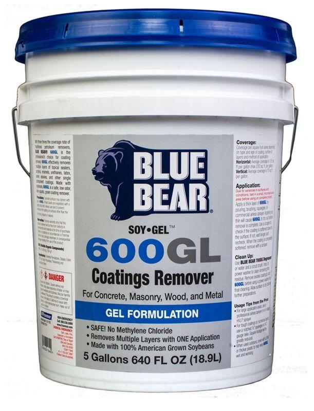 Blue Bear BBISG5G 600GL Coatings Remover - 5 Gallon