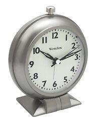 Westclox 47602 Classic Alarm Clock Full Size Analog Big Ben Alarm Clock