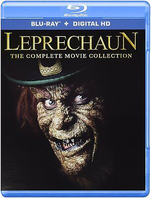 Leprechaun The Complete Movie Collection  Blu Ray   Digital Hd  New Dvd  Ships F