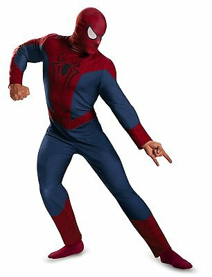 MARVEL THE AMAZING SPIDER-MAN 2 ADULT HALLOWEEN COSTUME MEN'S SIZE X-LARGE 42-46 ()
