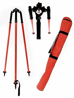 Adirpro Thumb Release Surveying Red Prism Pole Tripod Total Stationgpstopcon