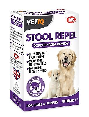 VetIQ Stool Repel Dogs Stops Poo Eating Coprophagia  SAMEDAY DISPATCH
