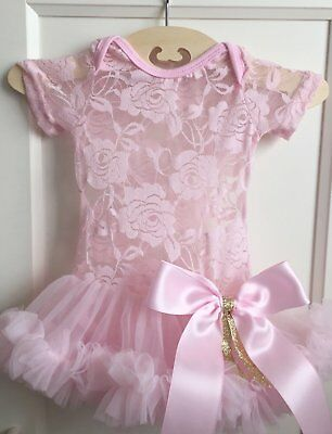 USA Newborn Baby Girl Romper Princess Dress Party Pageant Wedding Tutu Dresses](Newborn Baby Girl Party Dresses)
