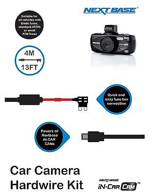 Nextbase Hard Wire Kit Car Dash Cam Camera 512G 402G 312GW 302G 212 202 101 DUO