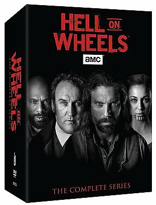 Hell On Wheels   The Complete Series   Seasons 1 5  Vol  1   2   Box Set   New