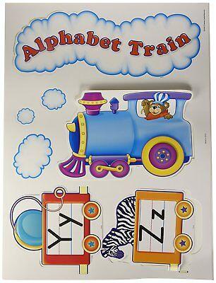 Alphabet Train Bulletin Board (Teacher Created Resources Alphabet Train Bulletin Board Display Set)