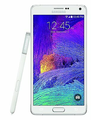 NEW Samsung Galaxy Note 4 N910A ATT 4G GSM UNLOCKED Android Phone 32GB White
