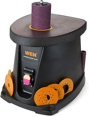 Wen 6510t 3.5 Amp Oscillating Spindle Sanderblack Free Shipping