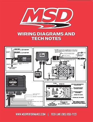 MSD Ignition 9615 Book Wiring Diagrams/Tech Notes/Instructions for MSD Products