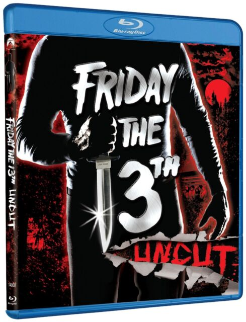 FRIDAY THE 13TH : PART 1 Uncut  (1980)  -  Blu Ray - Sealed Region free