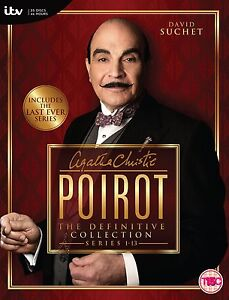 Agatha Christie's Poirot The Definitive Collection Series 1-13 DVD Box Set New