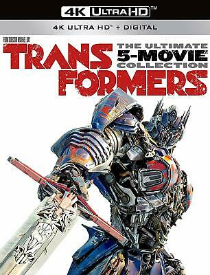 Transformers Ultimate 5-Movie Collection 4K HD Blu-ray Digital 1-5 Brand NEW