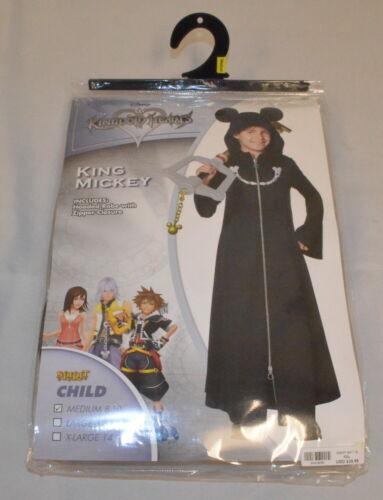 Halloween Costume! Kingdom Hearts King Mickey, Sz: Child M (8-10) *New* 01419191