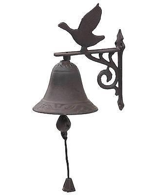 style ancienne cloche clochette sonnette de porte d entrée portail en fonte