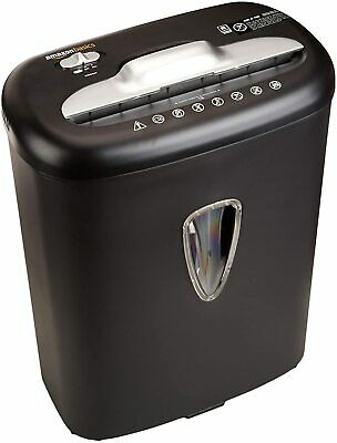8 Sheet Cross-cut Paper Cd And Credit Card Home Office Shredder Pullout Basket