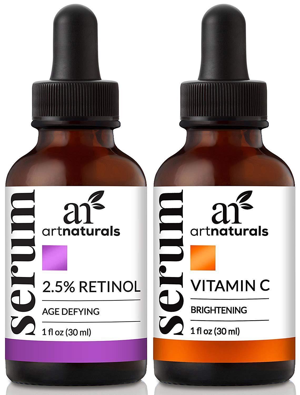 Art Naturals Organic 20% Vitamin C Serum 1.0 oz 2.5% Vitamin