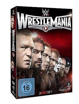WWE Wrestlemania 31 XXXI 2015 [3x DVD] + Hall of Fame Zeremonie *NEU* DEUTSCH