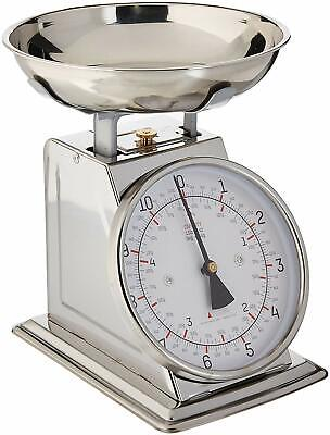 Taylor Stainless Steel Analog Kitchen Counter Produce Scale 11 Lb Capacity