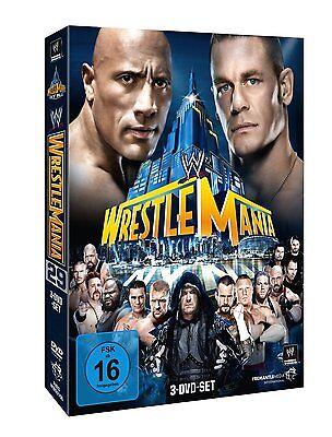 WWE WrestleMania 29 XXIX 2013 [3x DVD] DEUTSCH *NEU* The Rock vs. John