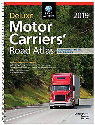 Rand McNally 2019 Deluxe Motor Carriers' Road Atlas (Rand McNally Motor...